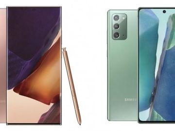Galaxy Note 20 (d) y Note 20 Ultra (i)