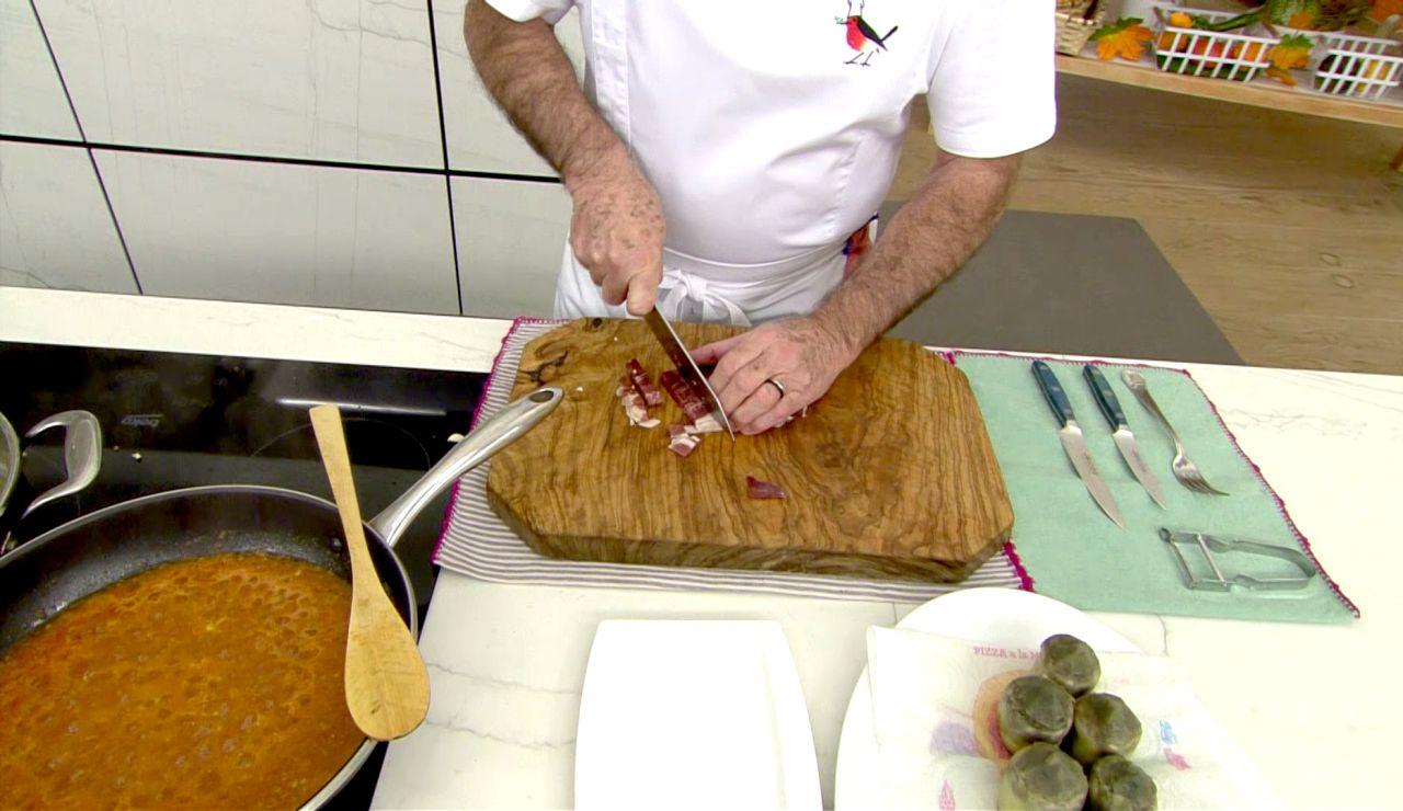El consejo de Karlos Arguiñano para hacer bien el jamón frito