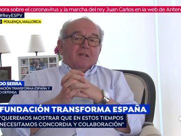 Eduardo Serra, presidente de la Fundación Transforma, invita a los políticos y la sociedad a aportar nuevas ideas para relanzar la economía tras el coronavirus
