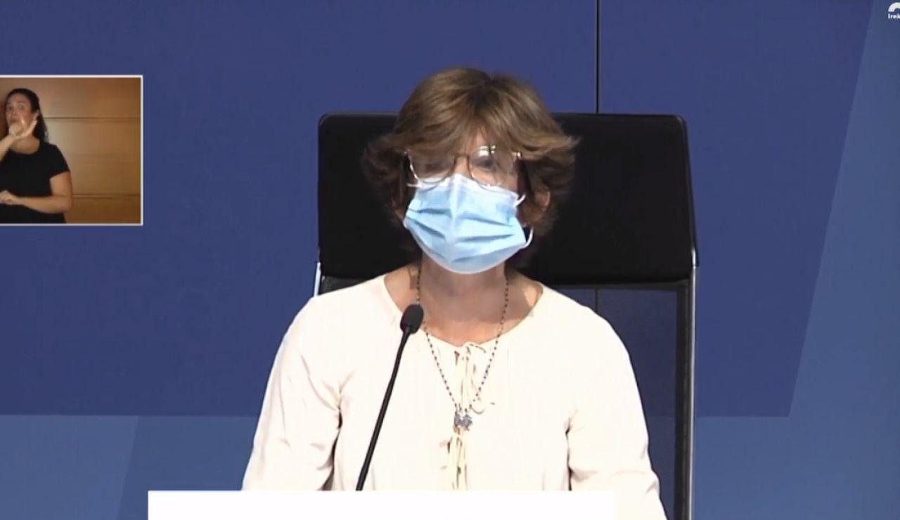 Nekane Murga, consejera de Salud en País Vasco