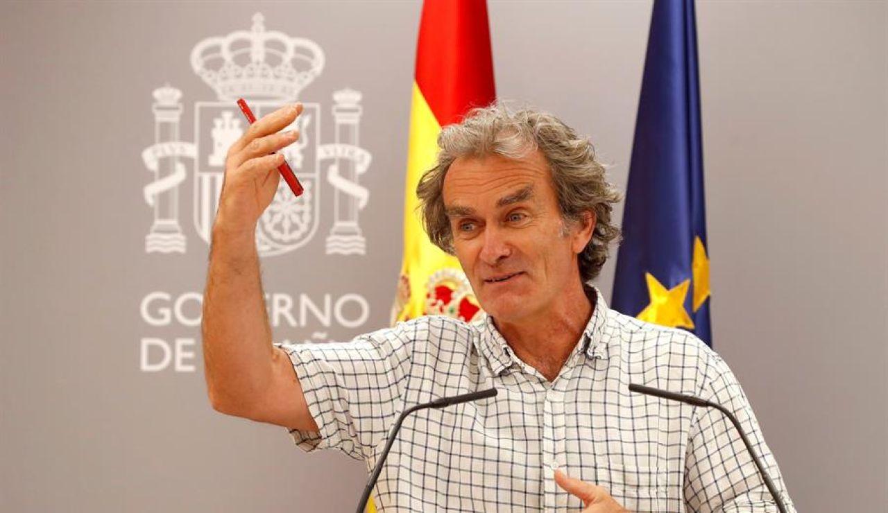 """Fernando Simón, sobre los rebrotes de coronavirus: """"Ningún hospital está en riesgo de colapso, para nada"""""""