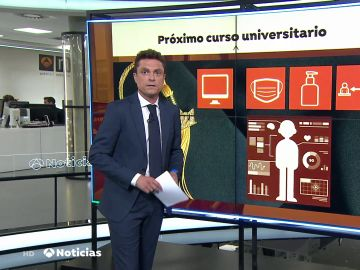 Así será la universidad del futuro por el coronavirus: clases online y estudiantes con gel, mascarilla y distancia