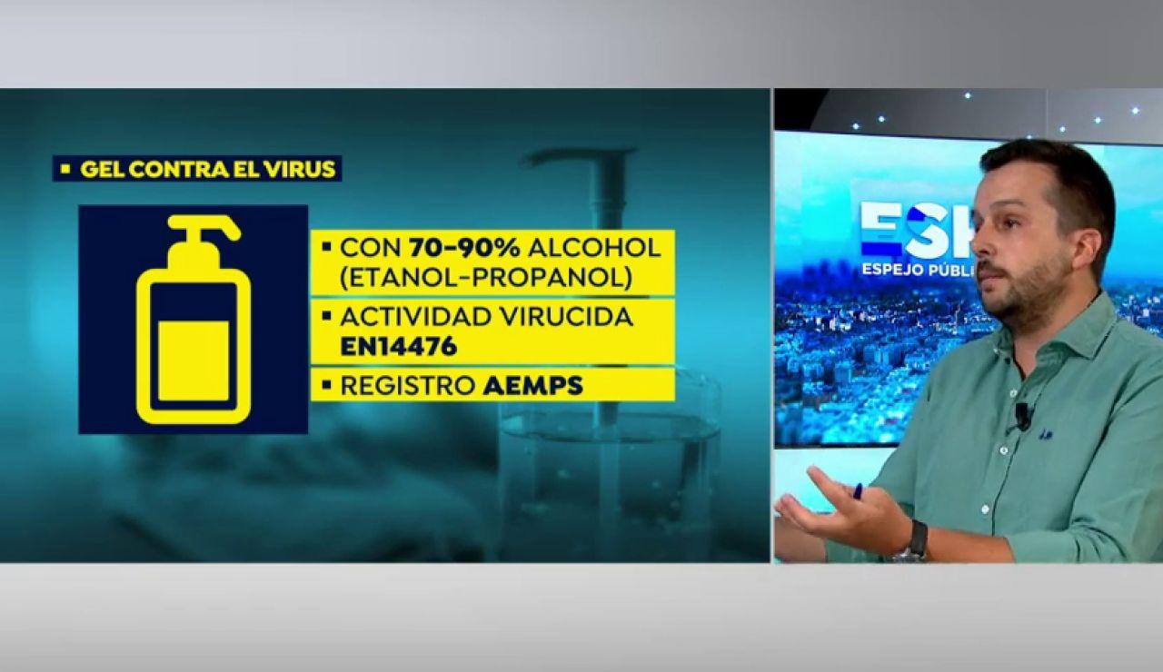 Estas son las cualidades que debe tener un gel hidroalcóholico para proteger del coronavirus