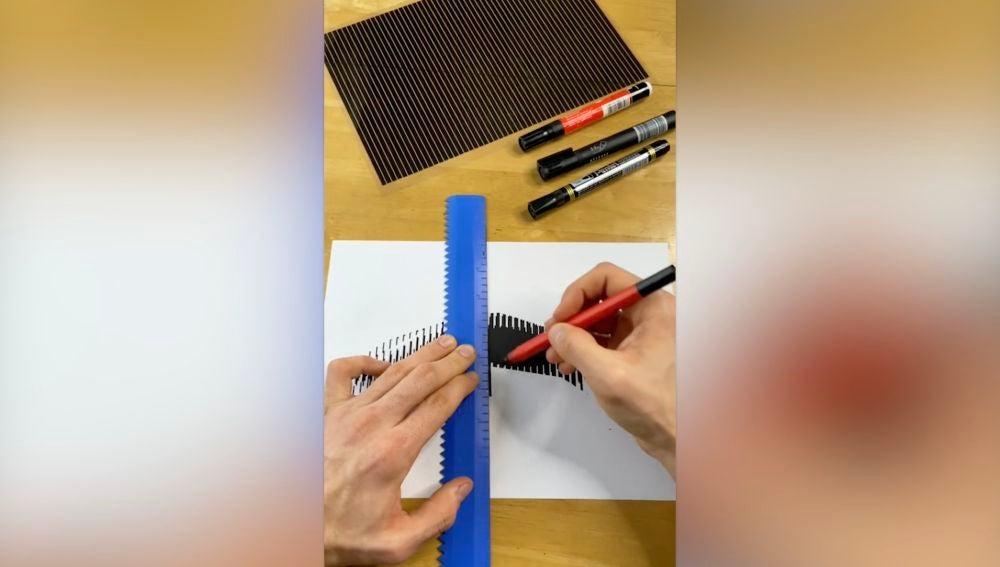 Estaartista hace que sus increíbles dibujos cobren vida