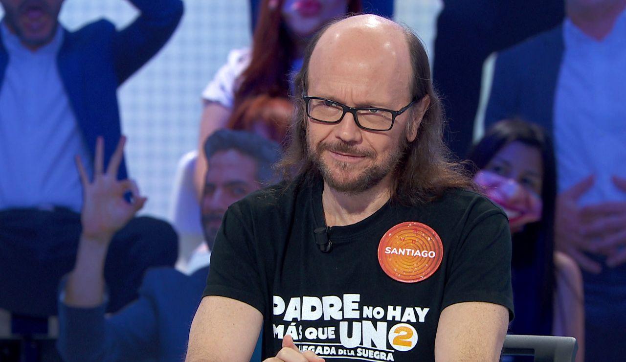 """La misión """"clara y concreta"""" de Santiago Segura en 'Pasapalabra': no hundir a Nacho"""