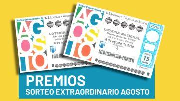 Sorteo Extraordinario de Agosto 2020: Premios del sorteo de la Lotería Nacional del 8 de agosto