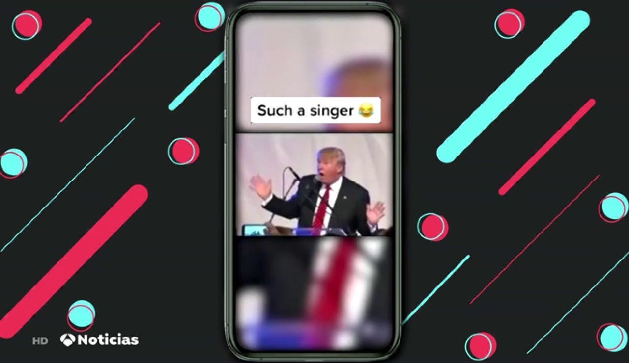 Los memes de Donald Trump inundan Tik Tok después de su amenaza de prohibirlo en Estados Unidos