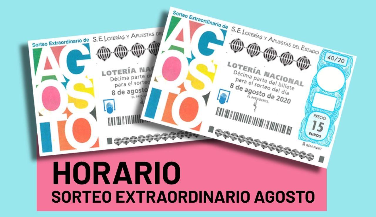 Sorteo Extraordinario de Agosto 2020: Horario y premios del sorteo de la Lotería Nacional del sábado 8 de agosto