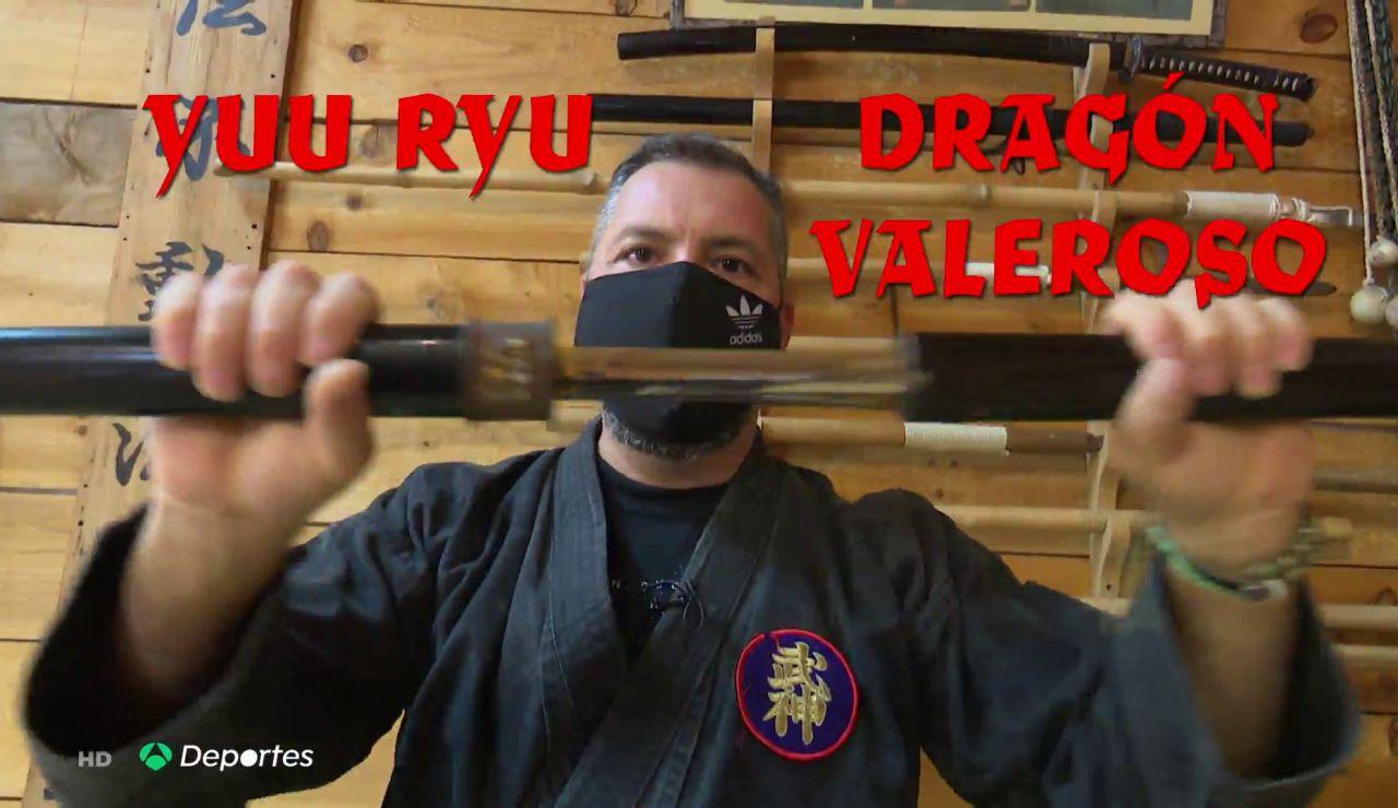 """Antena 3 Deportes entrevista a 'Dragón Valeroso', el ninja español: """"Siempre hay que evitar la violencia"""""""