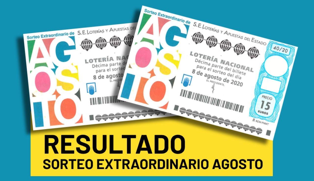 Sorteo Extraordinario de Agosto 2020: Resultado de la Lotería Nacional del sábado 8 de agosto