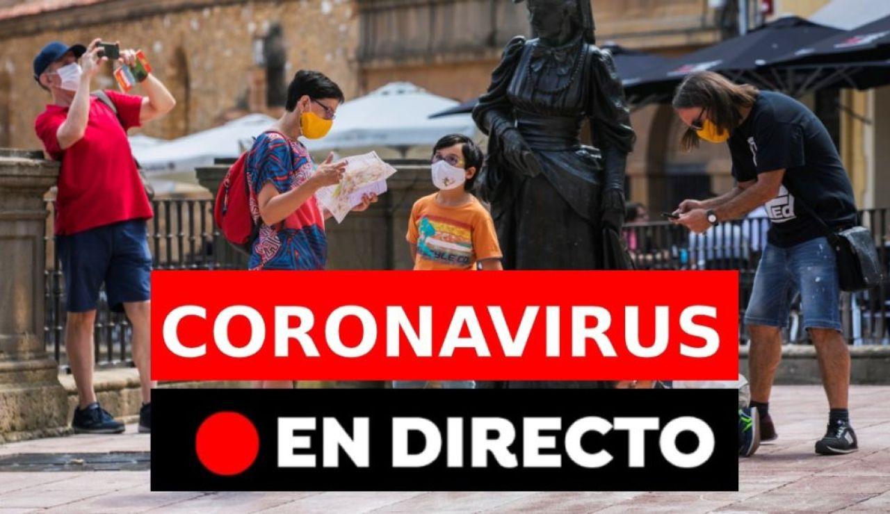 Coronavirus en España: Rebrotes y última hora, en directo