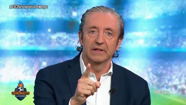 Josep Pedrerol en 'El Chiringuito'