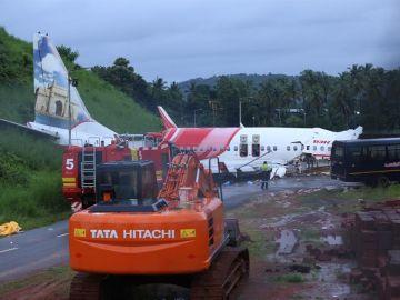 Accidente de avión en India