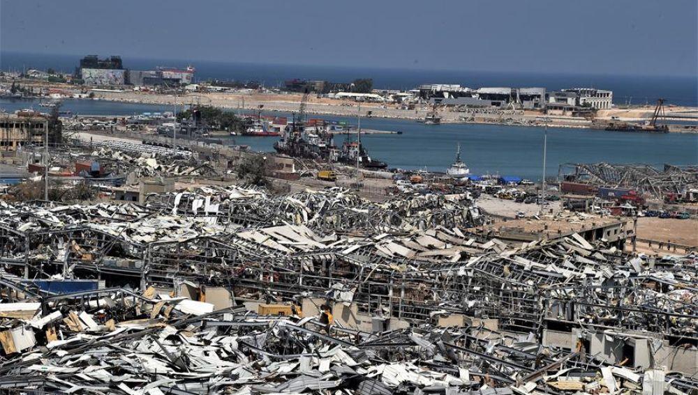 Beirut tras las explosiones