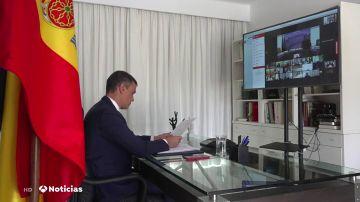 Pedro Sánchez pide unidad y una acción internacional coordinada para apoyar a Líbano