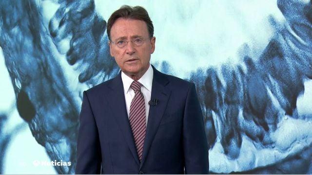 Matías Prats en Antena 3 Noticias Fin de Semana