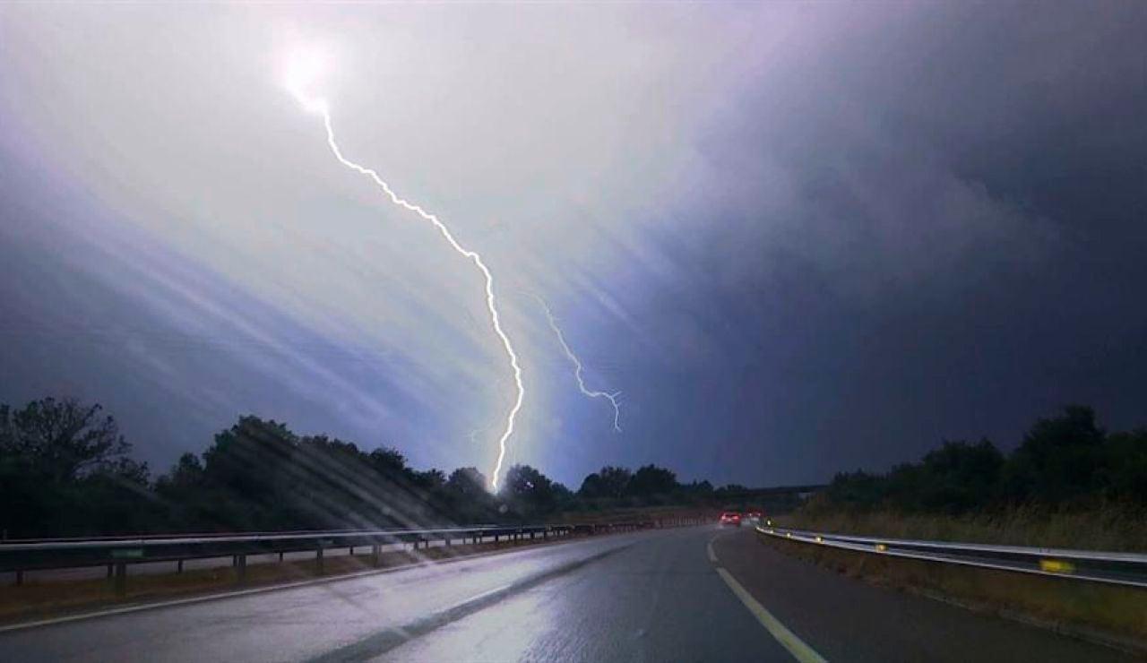 Tormenta en la provincia de Ourense