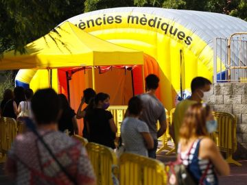 Test de coronavirus masivos en los municipios de Cataluña para detectar asintomáticos