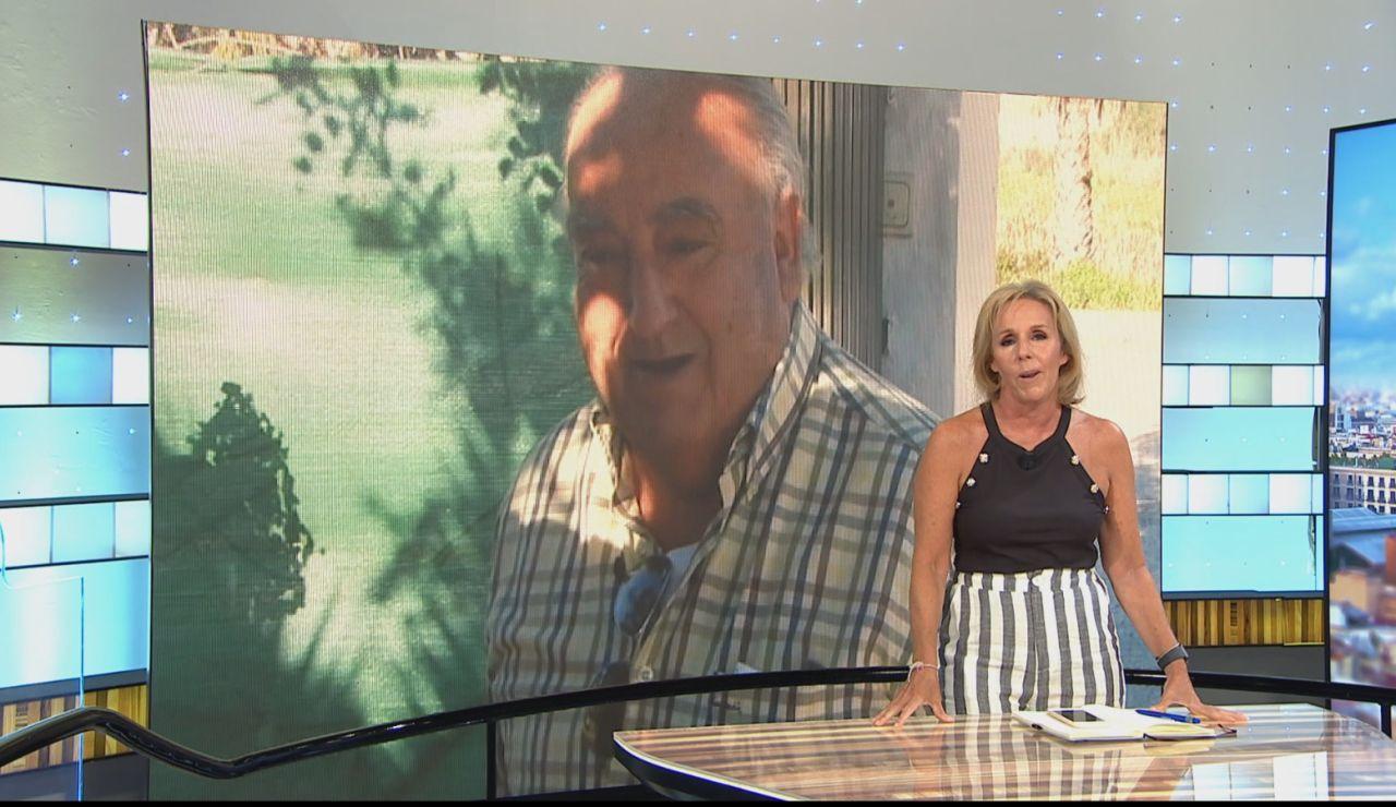 Los cuatro hijos de Humberto Janeiro despiden a su padre, tras morir por un fallo multiorgánico