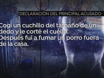 """La declaración de 'El loco' por el crimen de la mujer descuartizada en Chapinería: """"Cogí un cuchillo y le corté el cuello"""""""