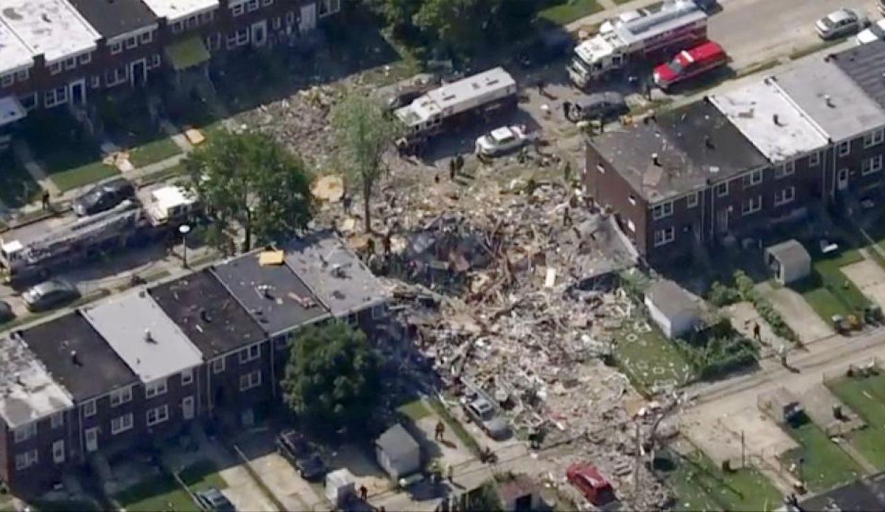 Explosión de gas en Baltimore