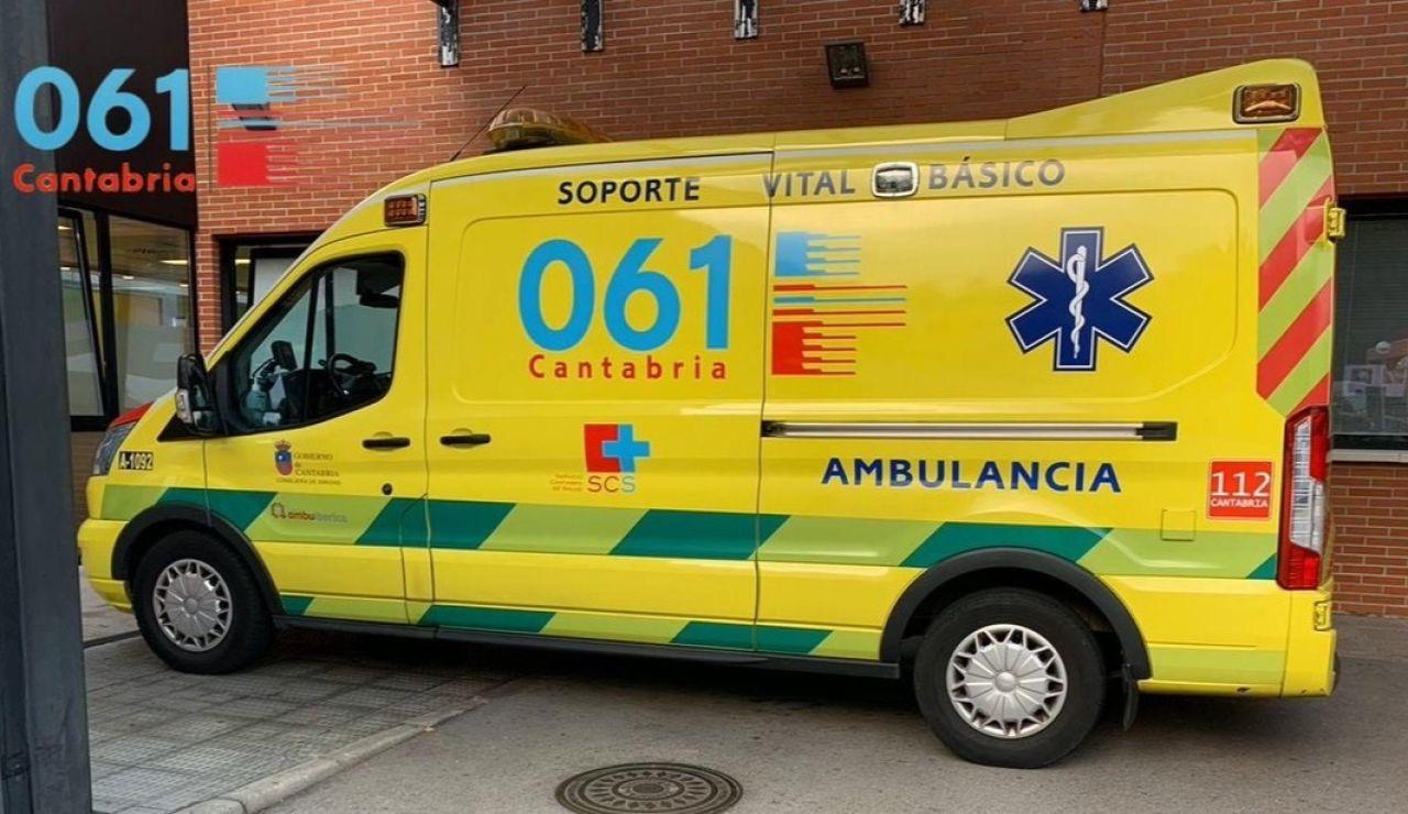 Ambulancia Cantabria
