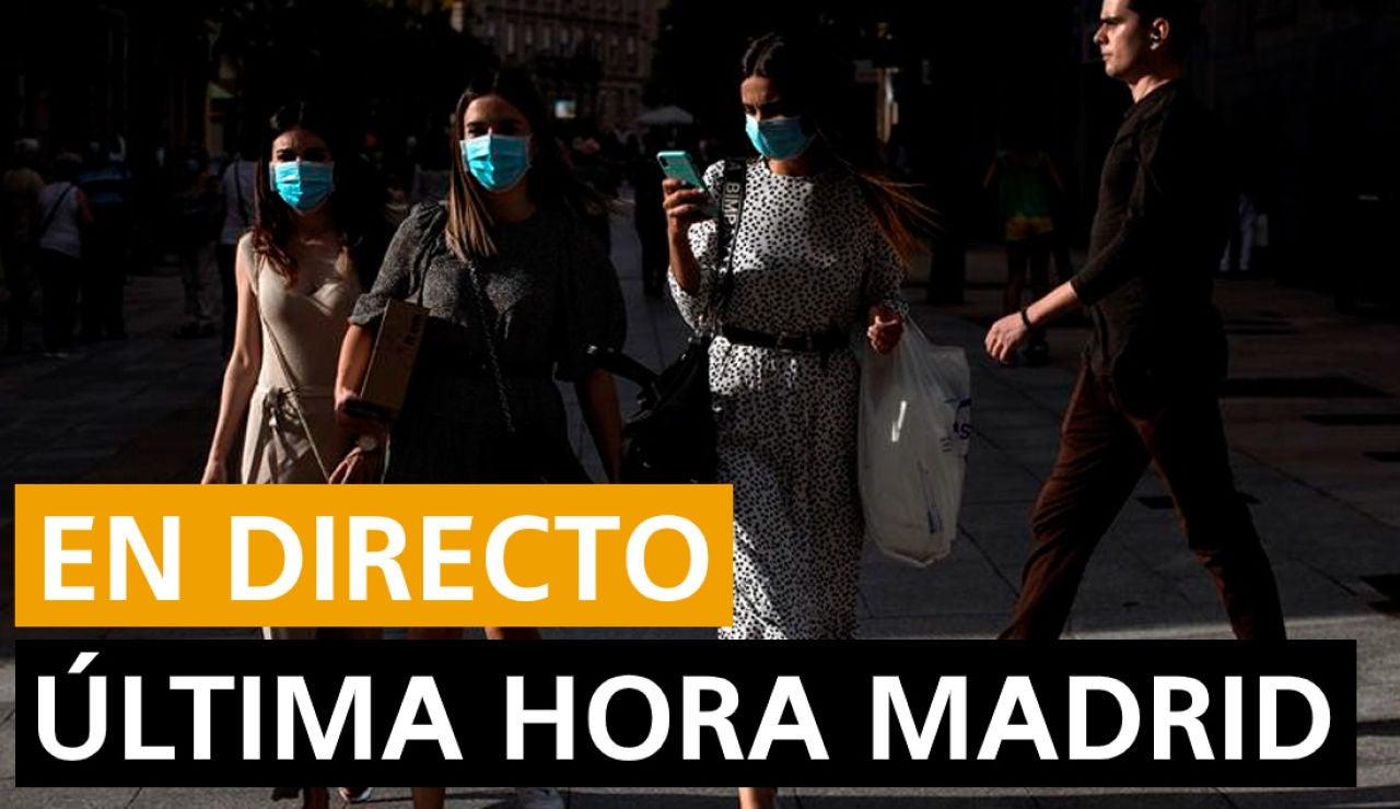 Coronavirus Madrid: Datos de contagios y fallecidos y noticias de hoy lunes 10 de agosto, en directo