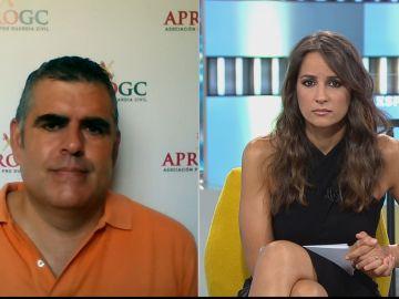 """Francisco Javier Pajuelo: """"Nos parece muy grave que una menor tenga que sufrir por el hecho de ser la hija de un guardia civil"""""""