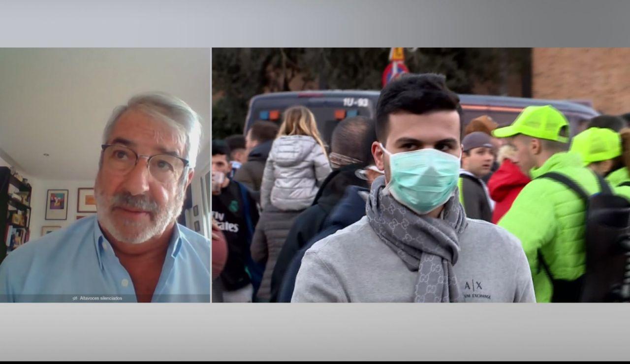 """Raúl Ortiz de Lejarazu: """"Hay que unificar el talento y anticiparse al virus, sobre todo en las residencias de ancianos"""""""
