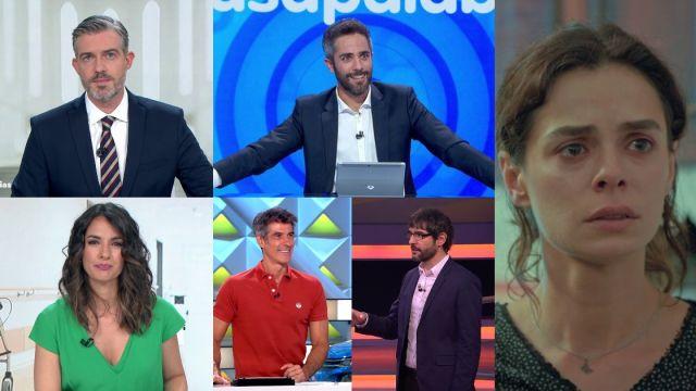 Antena 3 lidera con los informativos y los concursos más vistos de la TV