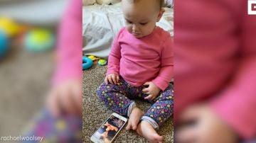 se emociona cada vez que un vídeo de ella y su papá