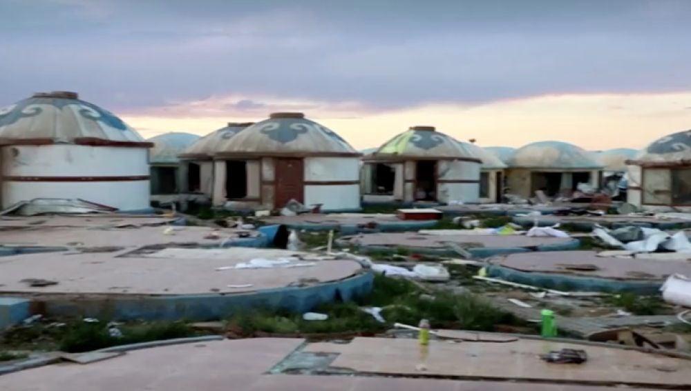 El impactante vídeo de un tornado que deja 33 fallecidos en China