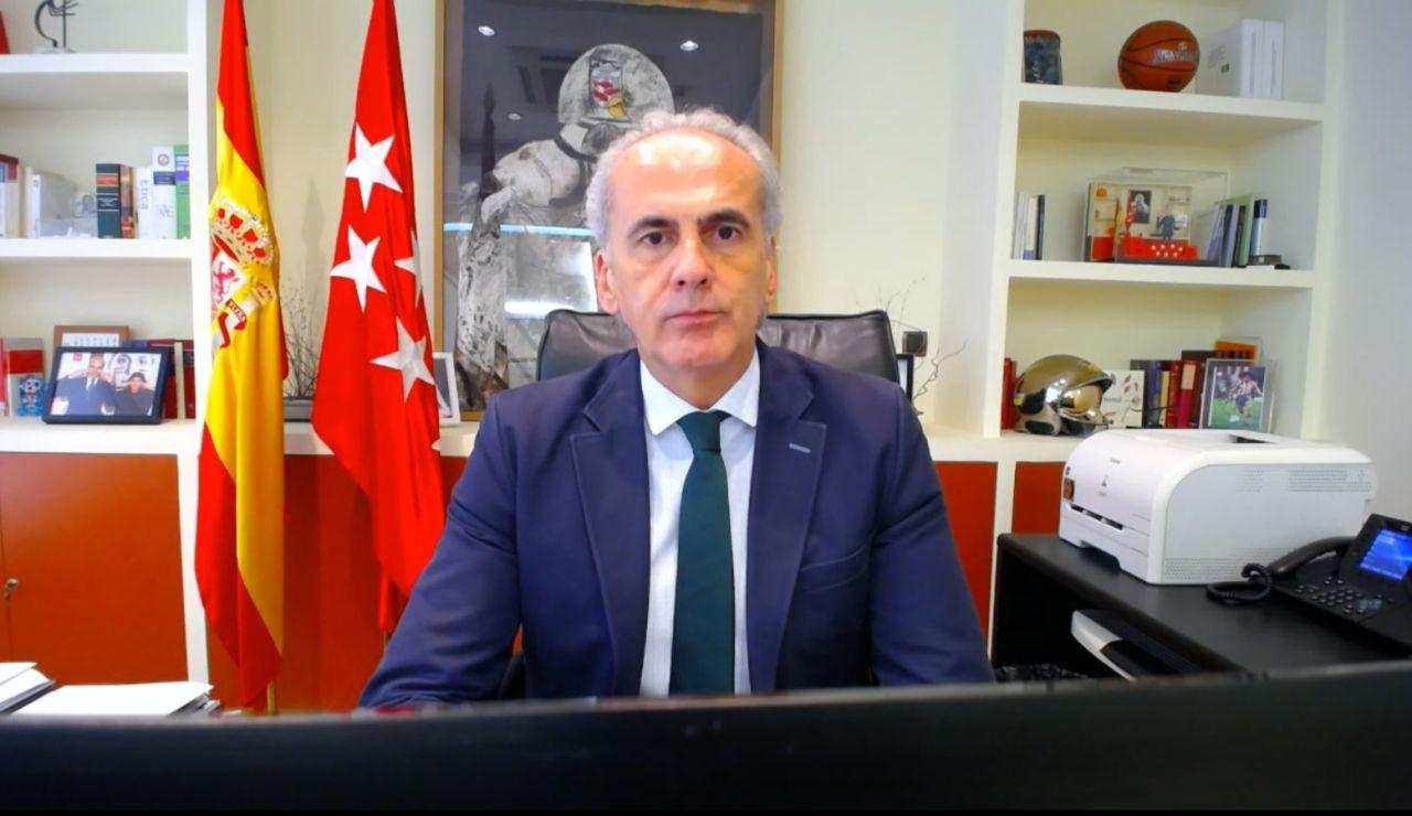 """Enrique Ruiz Escudero: """"El contrato con la empresa Quirón Prevención es apenas un 5% del total de rastreadores"""""""