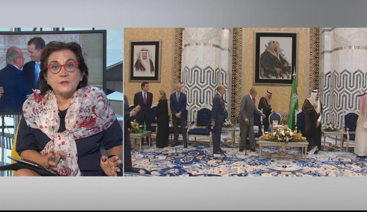 """Carmen Duerto: """"En el comunicado donde se informó del traslado de Juan Carlos I faltaba transparencia"""""""