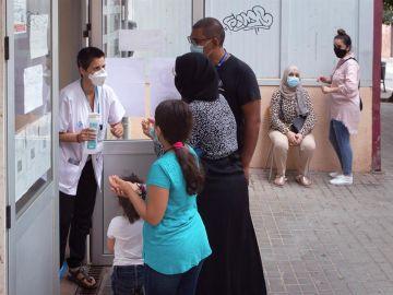 Pruebas PCR en Cataluña