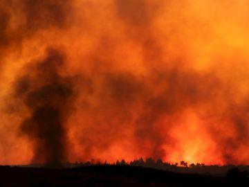Grave incendio en Huelva