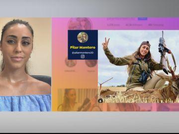 """Pilar Montero, cazadora: """"En las redes me han insultado y amenazado, lo único que hacemos es practicar nuestro derecho a cazar"""""""