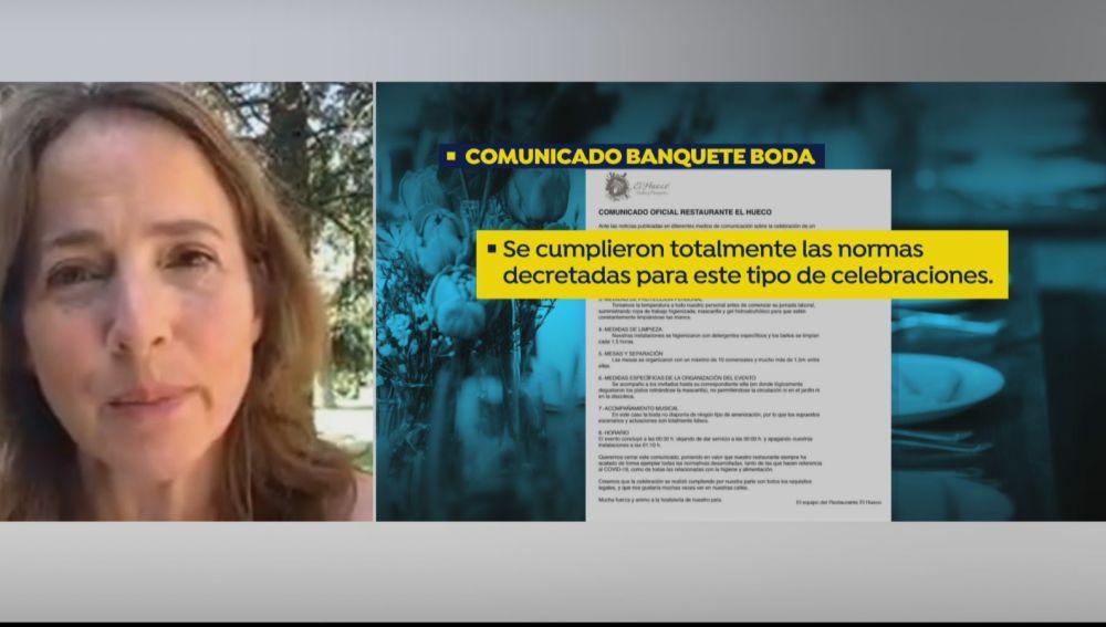 """Portavoz de la Asociación Profesional Bodas de España: """"Se están tomando medidas extremas"""""""