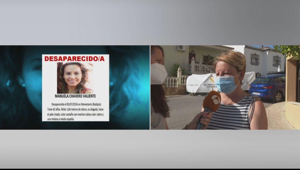 """La hermana de la desaparecida Manuela Chavero: """"La UCO debe de tener algo muy importante, creo que puede llegar el final"""""""