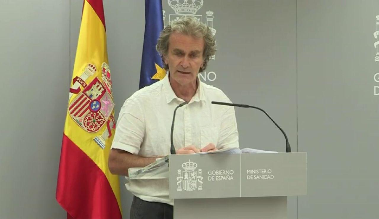 """Fernando Simón, sobre la vuelta al cole: """"No podemos pretender que nuestros hijos sean niños burbuja"""""""