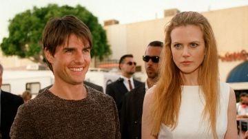 Tom Cruise y Nicole Kidman