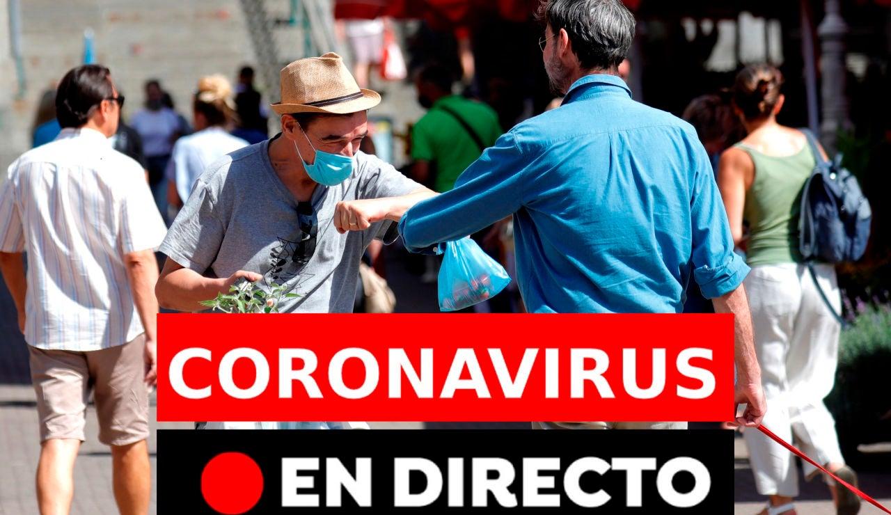Coronavirus España hoy: Rebrotes y últimas noticias del viernes 28 de agosto, en directo