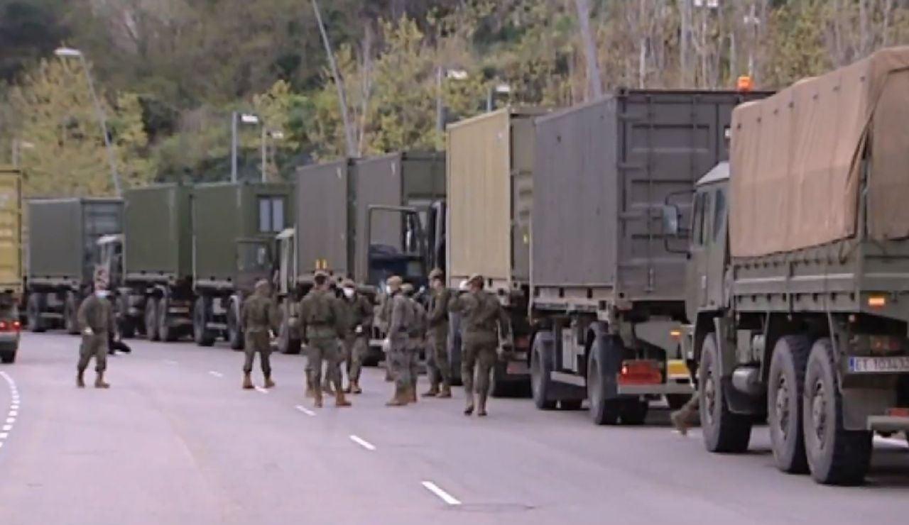 Estas son las siete comunidades autónomas que han pedido rastreadores militares