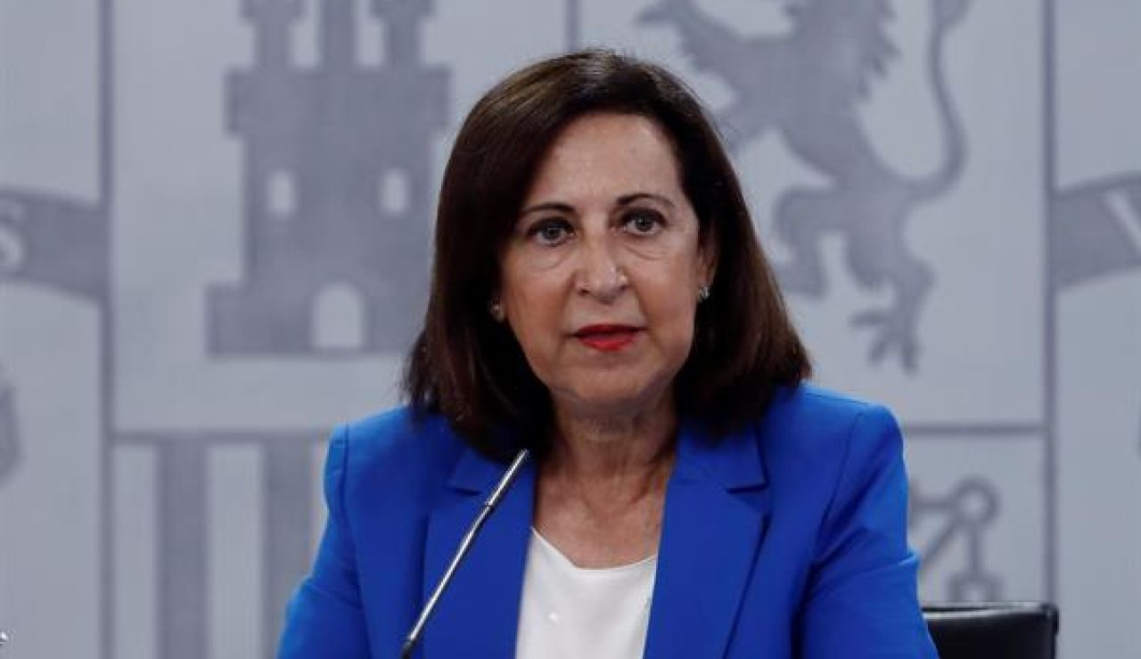 La ministra de Defensa Margarita Robles