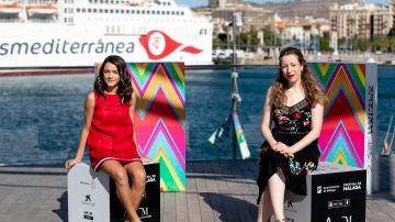 Pilar Palomero y Andrea FAndos de 'Las Niñas'