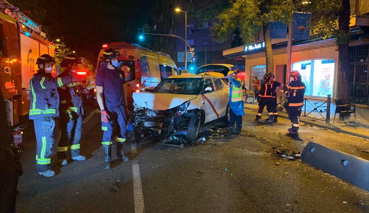 Imagen del atropello múltiple en Bravo Murillo