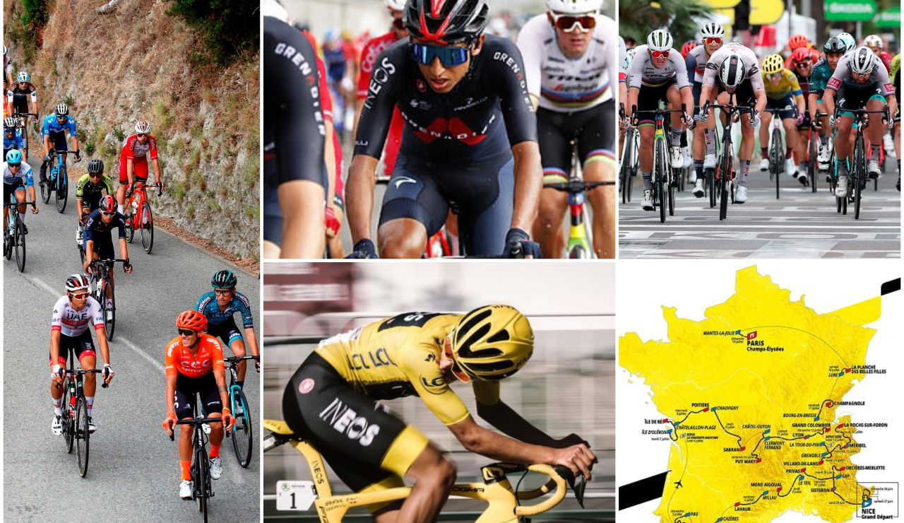 Tour de Francia 2020: favoritos, etapas y recorrido