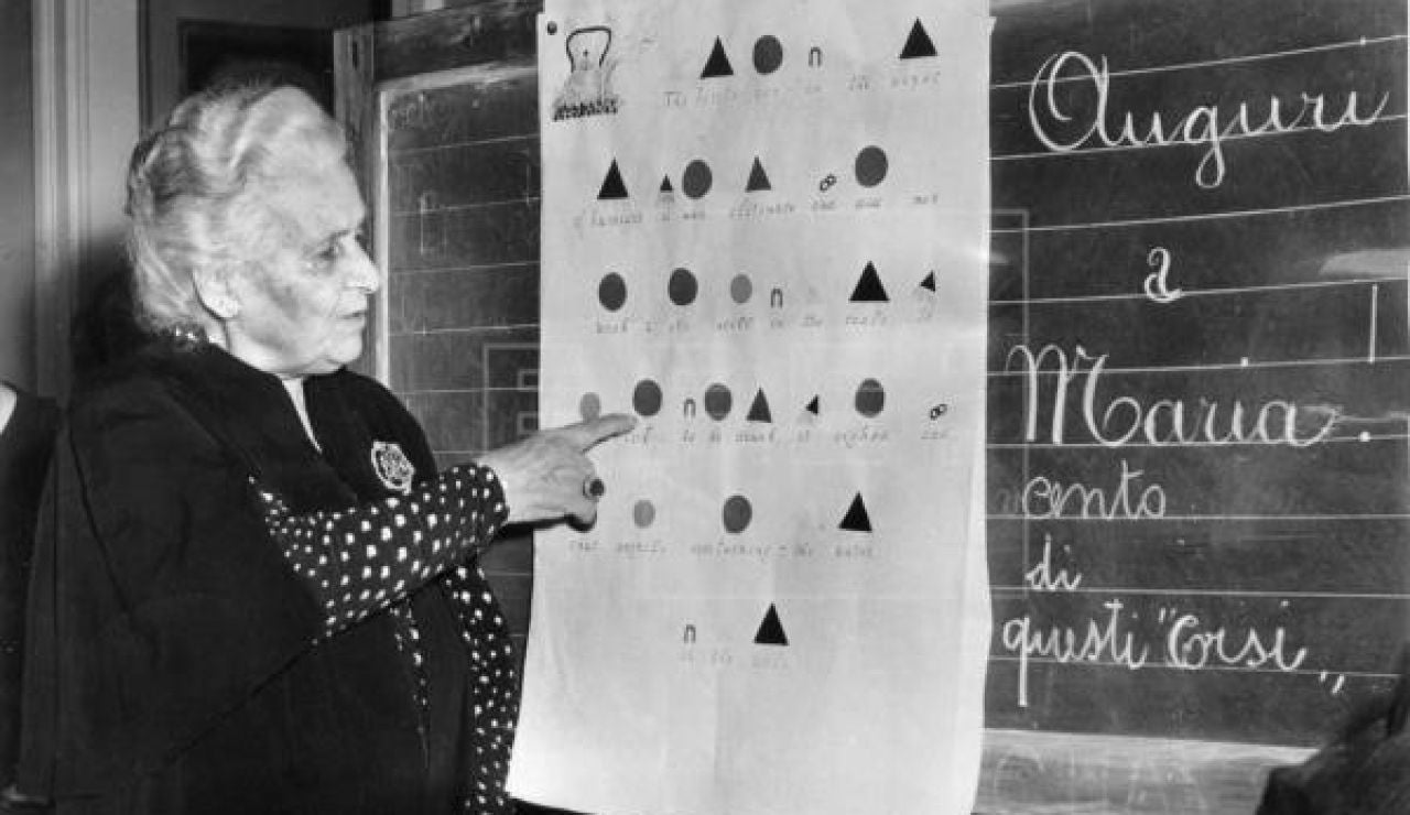 María Montesori, un referente de la enseñanza
