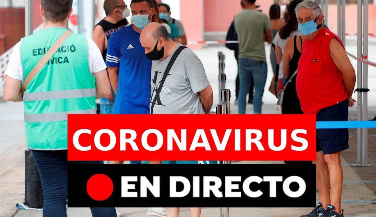 Las últimas noticias del coronavirus en España en directo: contagios, rebrotes y fallecidos