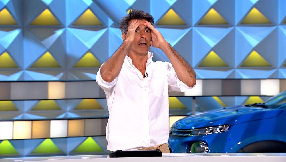 El despiste de Jorge Fernández con el que desvela parte de un panel de 'La ruleta de la suerte'